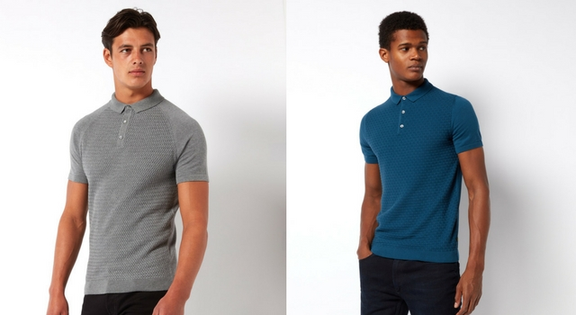 Gauge Knitted Polo's