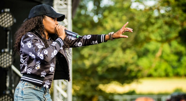 Lady Leshurr live as the breakout at
