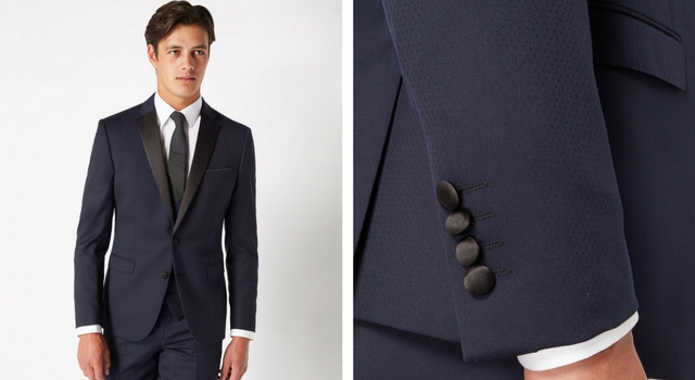 Slim Fit Wool-Rich Mix n Match Dinner Suit