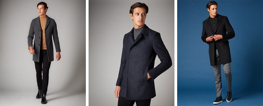 Black and grey coats that go with everything