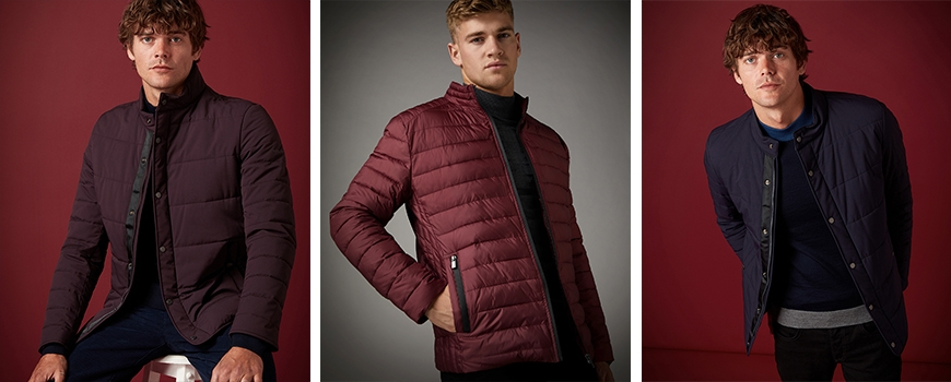 Quilted coats and jackets