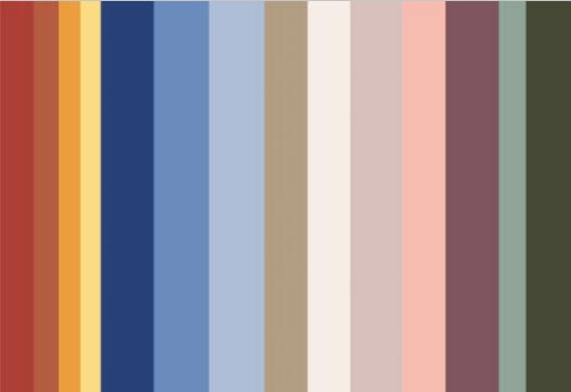 Remus Uomo SS20 Colour Palette