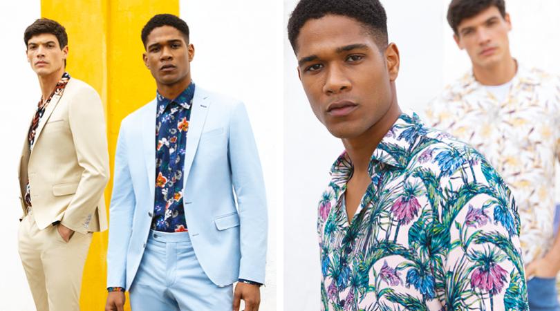 Hawaiian Floral Print Shirts for Summer